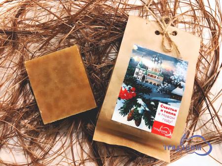Мыло «Рождественские забавы» с ароматом апельсинов и корицы