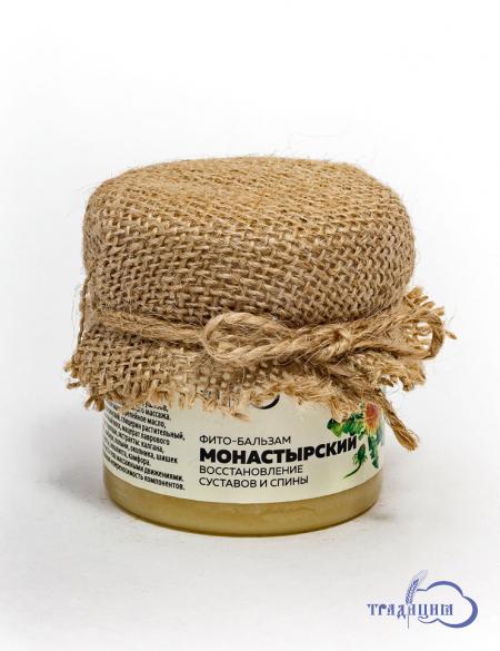 Фитобальзам «Монастырский» (восстановление суставов и спины) 100 г.