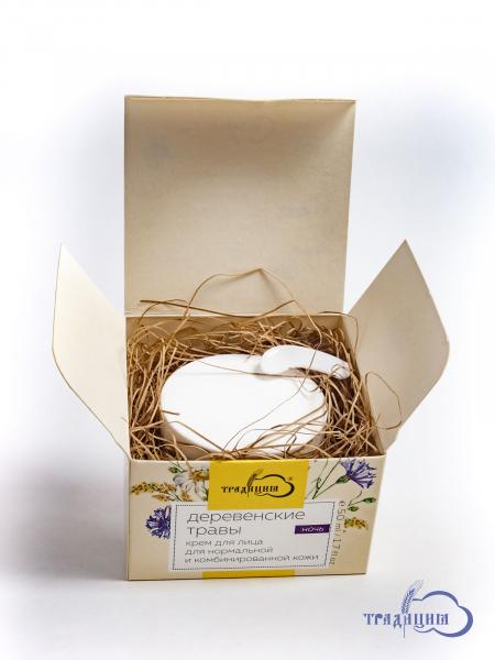 Крем для лица «Деревенские травы» №2 ночной (для нормальной и комбинированной кожи)