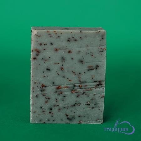 Цветочное мыло «Лавандовое» (с голубой глиной)