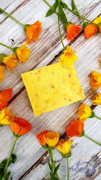 Цветочное мыло «Календула» 80гр