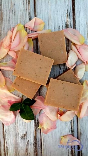 Цветочное мыло «Нежные лепестки розы»